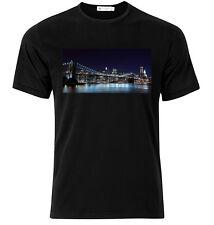 New York City Skyline  - Graphic Cotton T Shirt Short & Long Sleeve