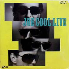 JOE COOL LIVE    LASERDISC LD NTSC  New and Sealed