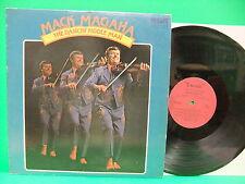 Mack Magaha The Dancin' Fiddle Man SIGNED 1974 Record Fireside 1813 Bluegrass