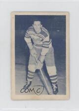 1952 Juniors Blue Tint #78 Adolph Kukulowicz Halifax Citadels (AHL) Hockey Card