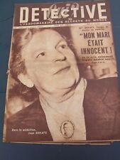 Détective 1952 AULLAUCH PEXIORA PEYRINS PLAINE SUR MER