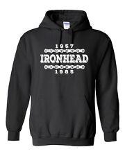 IRONHEAD YEARS Hoodie - S - 5XL - Harley Davidson Biker