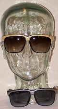Glamoroso Negro Oro O PLATA Gafas de sol con Plástico Monturas SOLD Cada