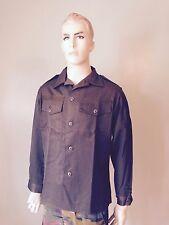 Military Surplus Austrian O.D. Heavyweight BDU Shirt Button Front  and Cuffs