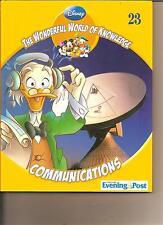 DISNEY PRESENTS  WONDERFUL WORLD OF KNOWLEDGE 23 - COMMUNICATIONS BOOK