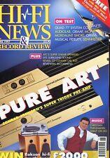 Hi-Fi News June 97 -C. JOHNSON'S SUPER TRIODE PRE-AMP-