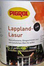 # PIGROL Lappland Lasur 2,5 L Holzschutz Lasur Anstrich Farbe Holzlasur