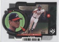 1998 Upper Deck UD3 Die-Cut #16 Bruce Chen Atlanta Braves Baseball Card