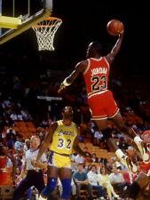 Michael Jordan Bulls Lakers Magic Johnson Huge Giant Print POSTER Affiche