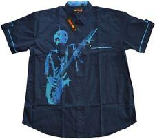 Übergrößen !!! WOW !!!  Schickes Kurzarmhemd KAMRO Guitar Hero 3XL - 9XL