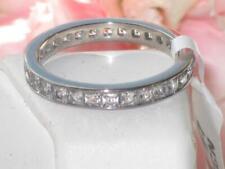 TK2344 para Hombre para Mujer Boda Princesa Anillo Banda Acero Inoxidable Diamante Simulado