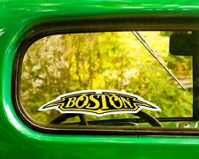 2 BOSTON BAND DECALs Sticker Bogo For Car Window Bumper Laptop Free Shipping