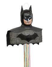 DC Comics Batman | Superhero | Black Cape | Birthday | Party Pull String Pinata