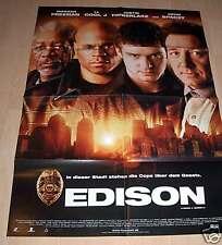 Filmposter A1 Neu Edison - Justin Timberlake  LL Cool J