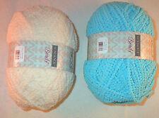 Sundance Beads Yarn 100g Cream or Turquoise Loom Knit Crochet Free Ship Offer