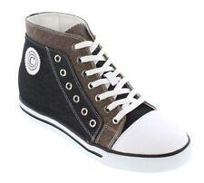 CALDEN K882898 - 3 Inches Elevator Height Increase Black & Grey Cap Toe Shoe