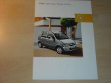 21453) Opel Agila Njoy Prospekt 2003