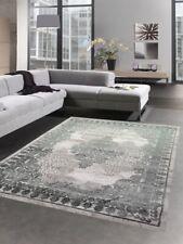 Tapis salon tapis vintage ornements gris