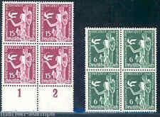 GERMANY  SC#477/78  MI#622/23  BLOCKS  MINT NEVER  HINGED