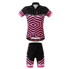 Cycling Jerseys Women`s Mountain Bike Bicycle Shirt Tops with Shorts S - XL