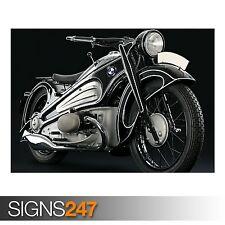 1937 MOTO BMW R7 Classic (AC397) BICI POSTER-Poster Arte Stampa A1 A2 A3