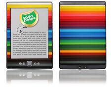 Amazon Kindle 4 Ebook Reader-Colorido Lápices Piel pegatina cubierta