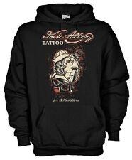 Felpa con cappuccio Vintage hoodie KSC18 Ink Alley tattoo sailor woman