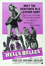 """HELLS BELLES""  Movie Poster A1A2A3A4Sizes"
