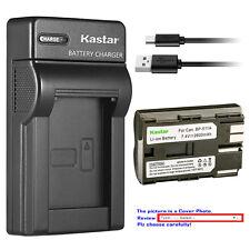 Kastar Battery Slim Charger for Canon BP-511 BP511A BP-508 BP-512A BP-522 BP-535