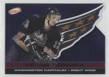 2001-02 Pacific Atomic Red #97 Peter Bondra Washington Capitals Hockey Card
