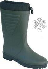 Winterstiefel PVC  38-47 Outdoorstiefel gefüttert Stiefel no Gummistiefel