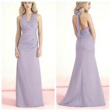 Kelsey Rose 50127 Lilac Long Sleeveless Wedding Evening Maxi Dress UK 10 38