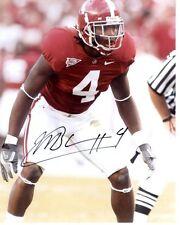 Mark Barron Alabama Signed 8X10 Photo