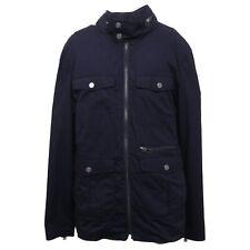B4297 giaccone uomo SELECTED HOMME IDENTITY giubbotto blu jacket man