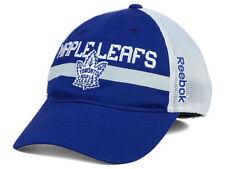 REEBOK NHL RETRO TORONTO MAPLE LEAFS '14 PLAYER MESH BLUE/WHITE FLEXFIT HAT CAP