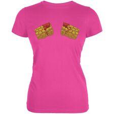 Hot Tots Hot Pink Juniors Soft T-Shirt