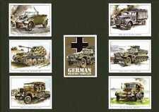 GOLDEN ERA - SET OF 7  GERMAN MILITARY VEHICLES  - 2001