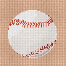 Baseball Needlepoint Kit or Canvas (Game)