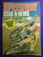 Speedway gioco STAR e notizie - 31 LUGLIO 1971-Nordic def.