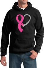 Breast Cancer Awareness Hoodie Heart Ribbon