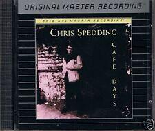 Spedding, Chris Cafe Days MFSL Silver CD MFCD 752