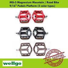 "Wellgo MG-3 BMX MTB Platfrom Bike - 9/16"" Polymer Bearing Pedals (3 color types)"