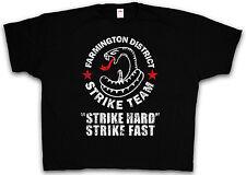 4XL & 5XL FARMINGTON STRIKE TEAM T-SHIRT Sutter The Shield T Shirt XXXXL XXXXXL