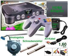 N64 Reparatur Kit Ersatzteile Nintendo 64 reparieren Schraubenzieher Analogstick