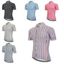 2020 Men's Cycling Jersey Full Zip Short Sleeve Summer Bike Bicycle Shirt S-5XL