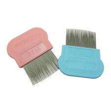 Flea Grooming Hair Comb Rake Brush Tool Cat Pet Dog Puppy Kitten Fine Tooth