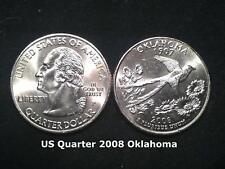 US State Quarter 2008 Oklahoma  (P)