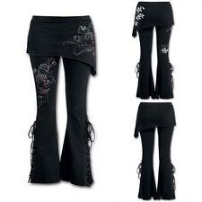 aee58978ce1280 item 5 Lace Up Women Bell Bottom Leggings Leggings Micro Slant Skirt Gothic  Punk Pants -Lace Up Women Bell Bottom Leggings Leggings Micro Slant Skirt  Gothic ...