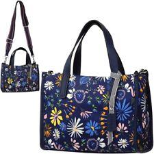 ESPRIT Damen Tasche Handtasche Blüten Blumen Schultertasche Trage Umhängetasche