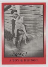 1991 TG Racing Tiny Lund #3 A Boy & His Dog Card